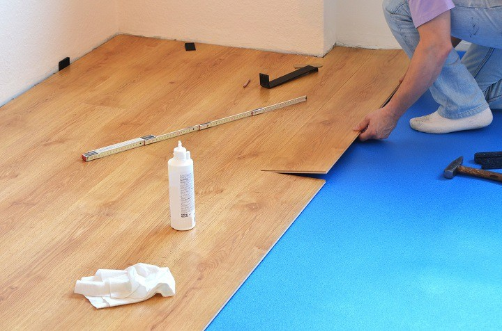 Laminate Plastic Flooring