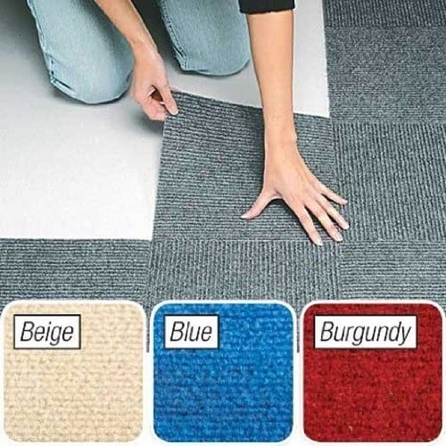 Peel & Stick Berber Carpet Tiles
