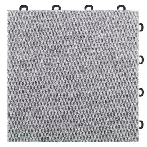 Interlocking Gray Carpet Tiles Premium