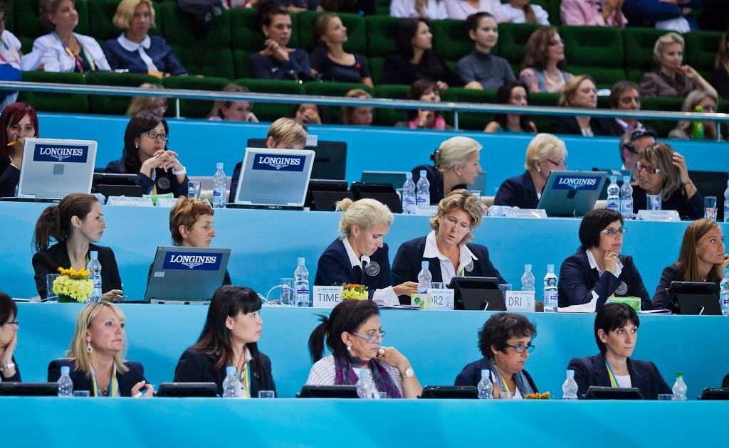 Gymnastics Judges