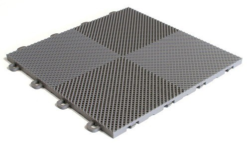 BlockTile Outdoor Flooring Interlocking Tiles