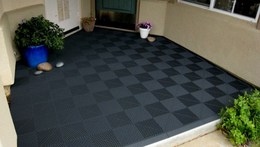 What Are Outdoor Rubber Mats