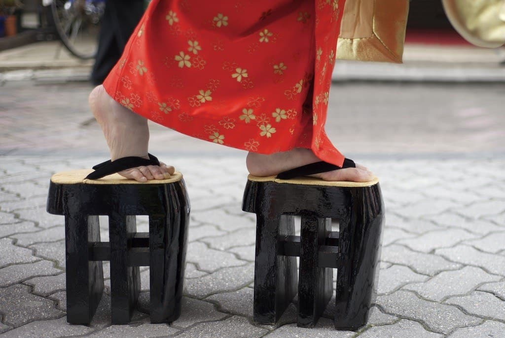 Tatami Sandals also know as zori