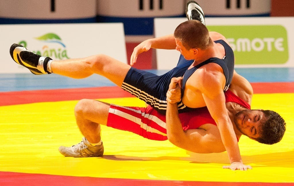 multiple types of wrestling - olympic wrestling