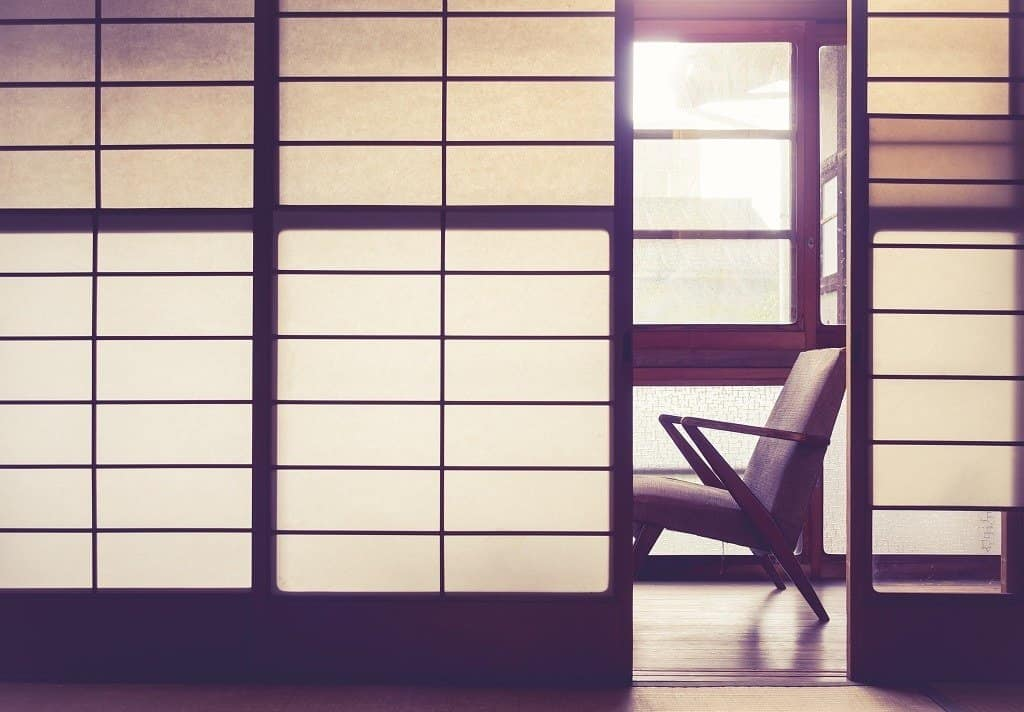 Sliding doors (Fusuma) and Translucent Sliding Doors (Shoji)