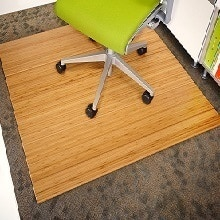 bamboo chair mat featured
