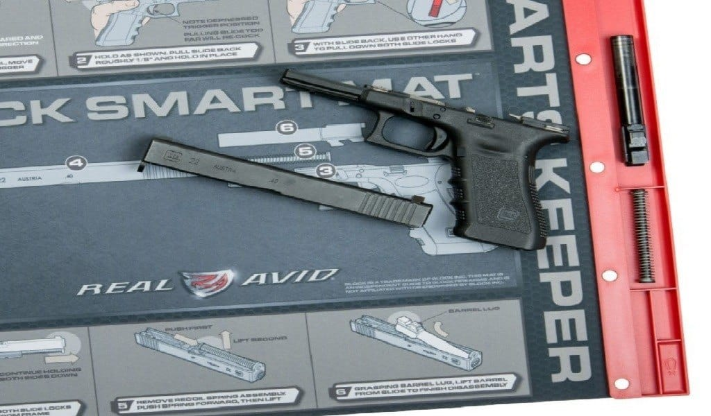 5 Best Gun Cleaning Mats and Pads For Keeping Things Organized