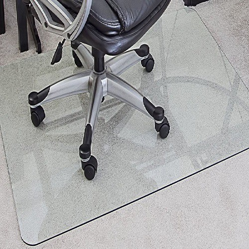 myGlassMat Tempered Glass Chair Mat