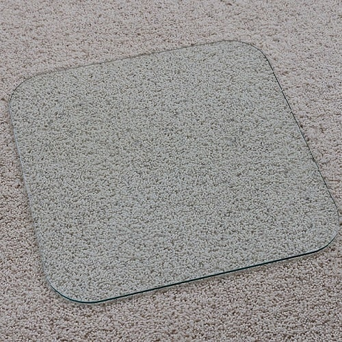 chair x mat product executive glass mats clear