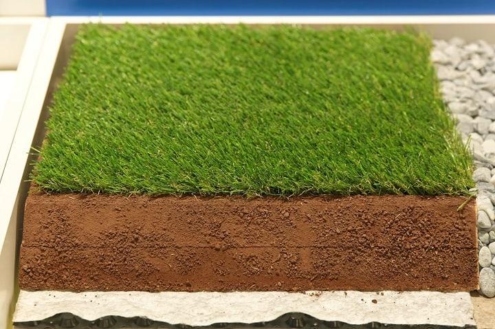 Backing Material of Artificial Grass Mat