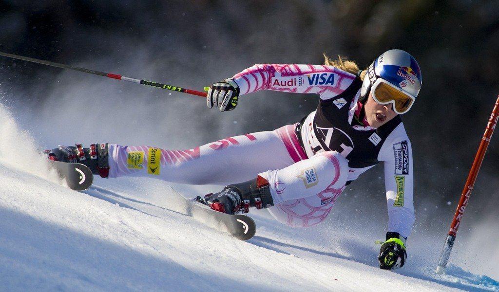 Lindsey Vonn's Amazing Skiing Style