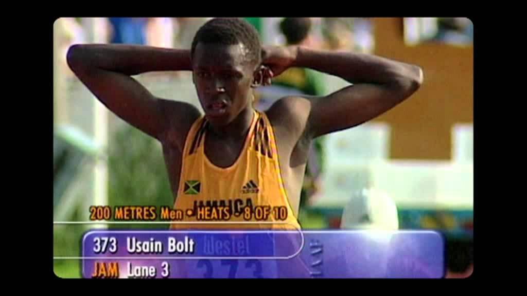 Young Usain Bolt