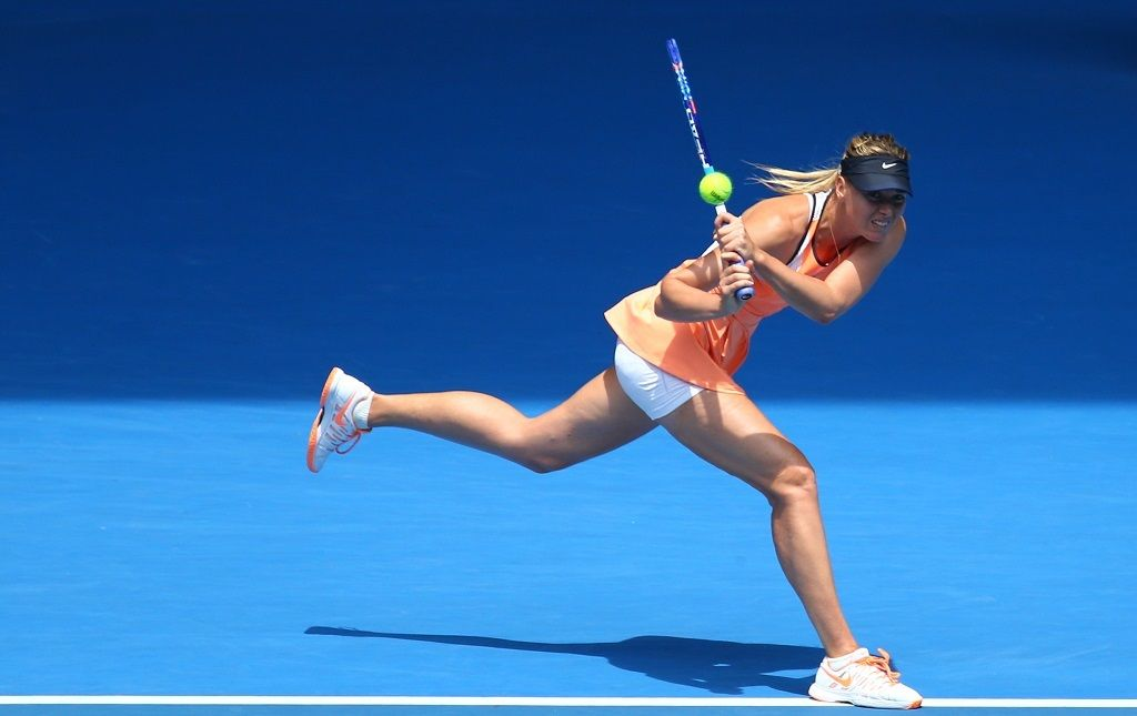 Maria Sharapova's Career Blasts Off