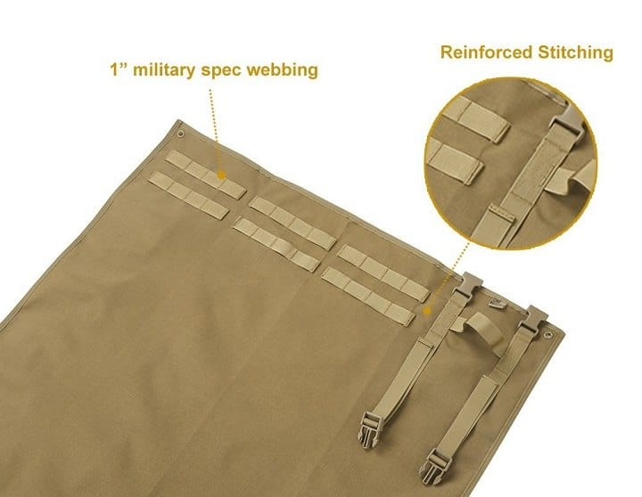 Best Shooting Mat Stitching