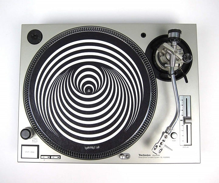 Turntable mat print - design