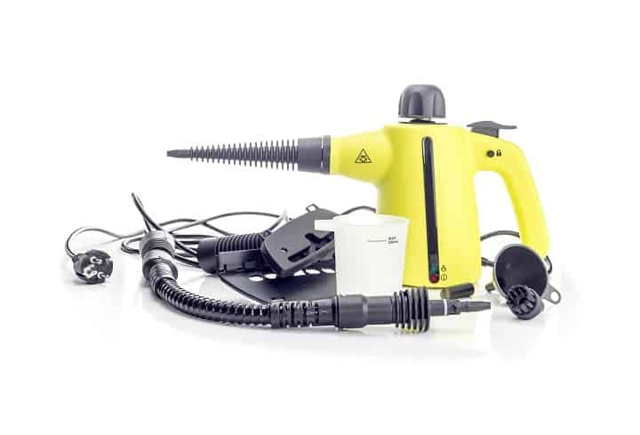Attachments and Accessories of a Portable Steam Cleaner