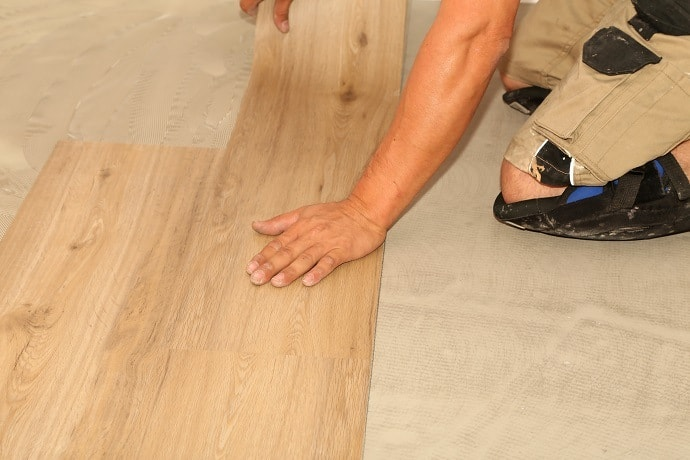 Installation of Vinyl Plank Flooring