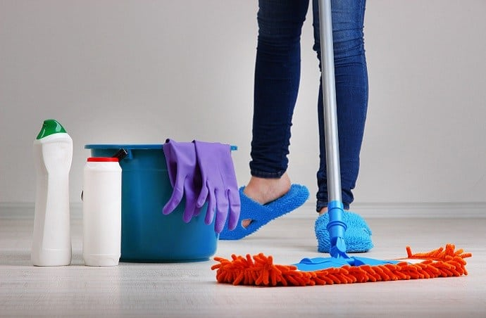 Type of Stains Microfiber Mops Are Good and Bad For