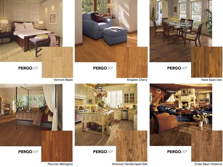 Pergo Flooring Designs and Sizes