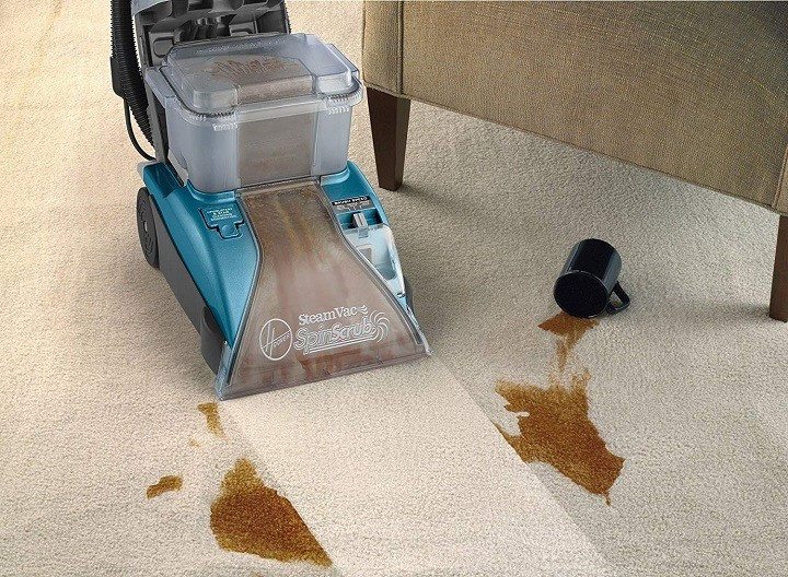 Carpet Cleaner Removes Carpet Stains