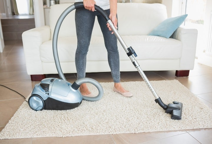 Vacuum for Shag Carpets Exhaust