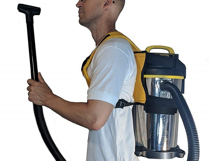 Benefits of Backpack Vacuums - Ergonomics
