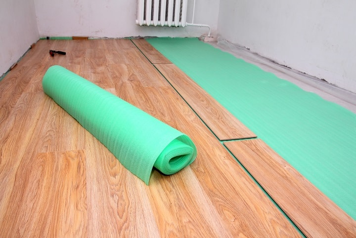 TrafficMASTER Laminate Flooring Over Carpet