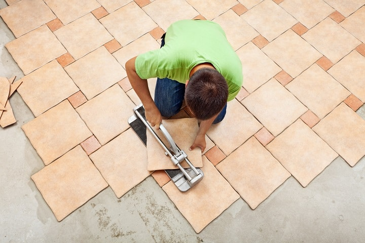 Cost of Ceramic Tile Flooring Installation Supplies