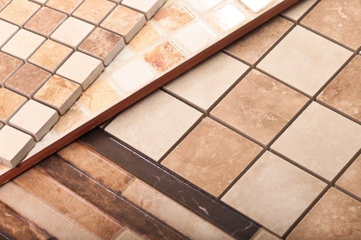 Costs of Ceramic Tiles According to Strength and Thickness