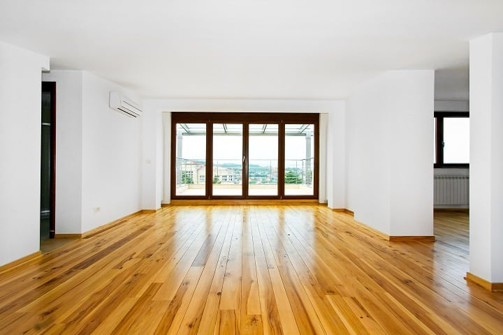 Texture of Brazilian Walnut Flooring