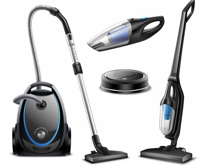 Types of Cordless Vacuums