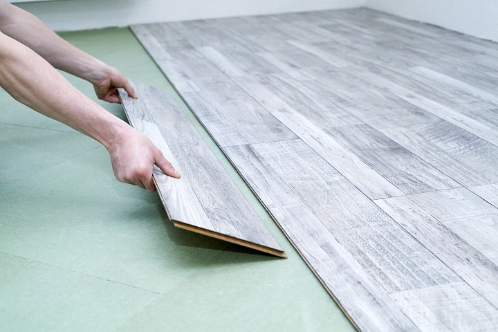 Benefits of Shaw Laminate Flooring - Fast Removal and Easy Installation