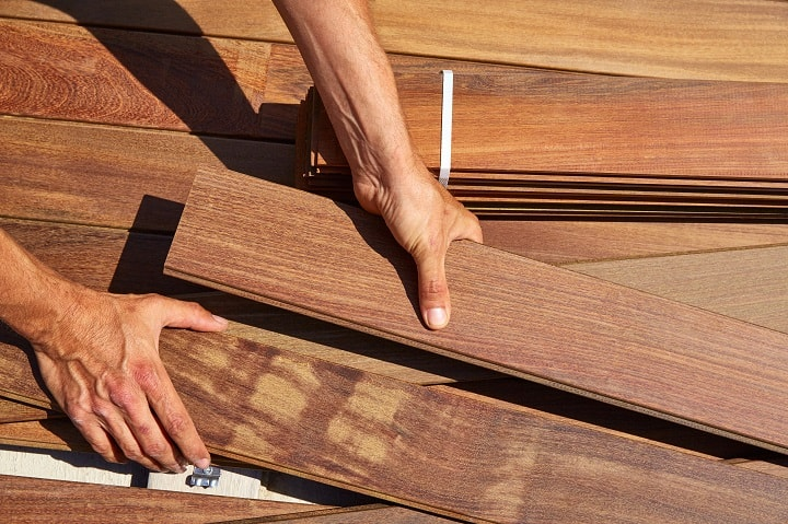 Ipe Decking Problems - Replacement of Damaged Boards