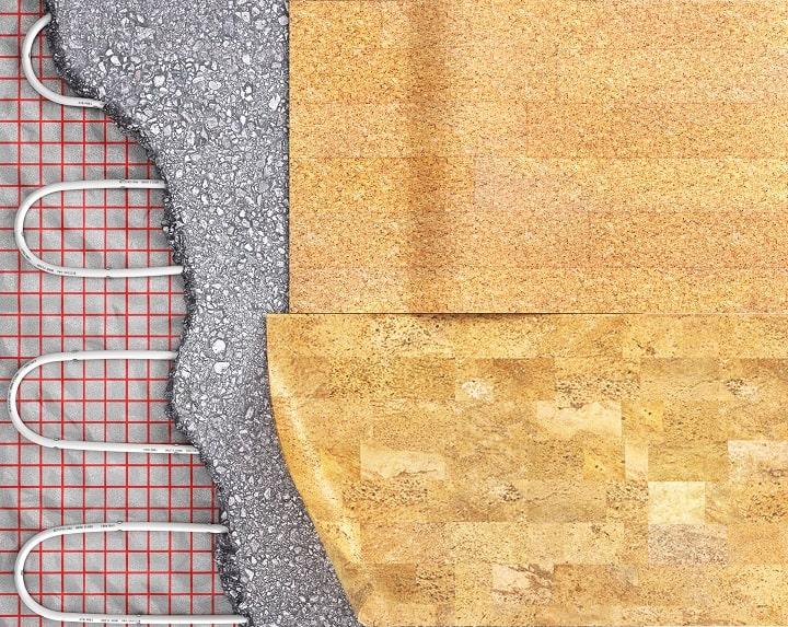 How do you make cork floors shine